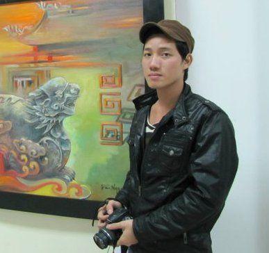 artist tran ngoc bay