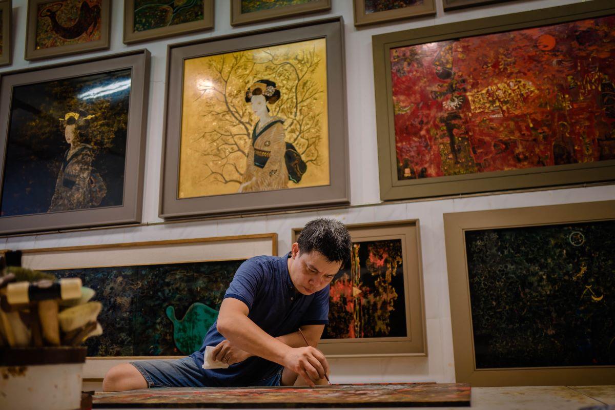 artist trieu khac tien