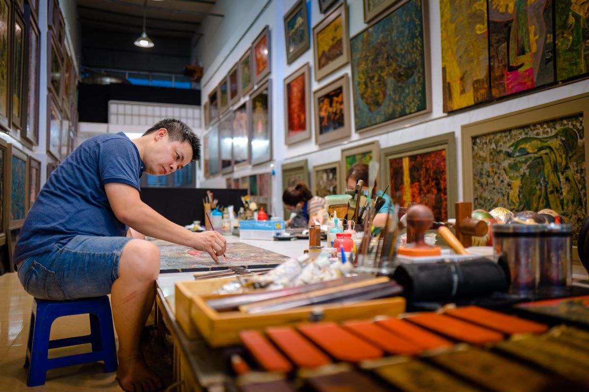 artist trieu khac tien 9