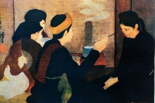famous vietnamese silk paintings
