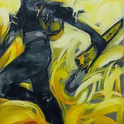 hong kong - artist tran ngoc bay
