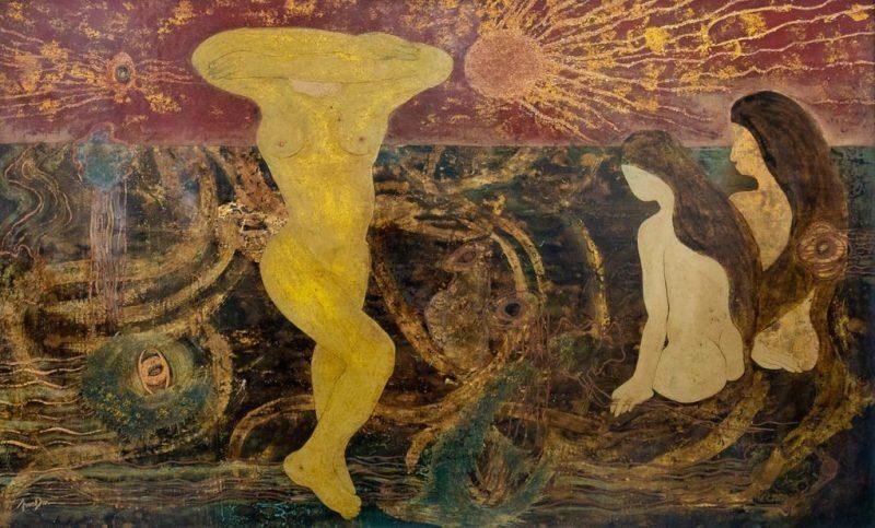 origin of life artist tran dan