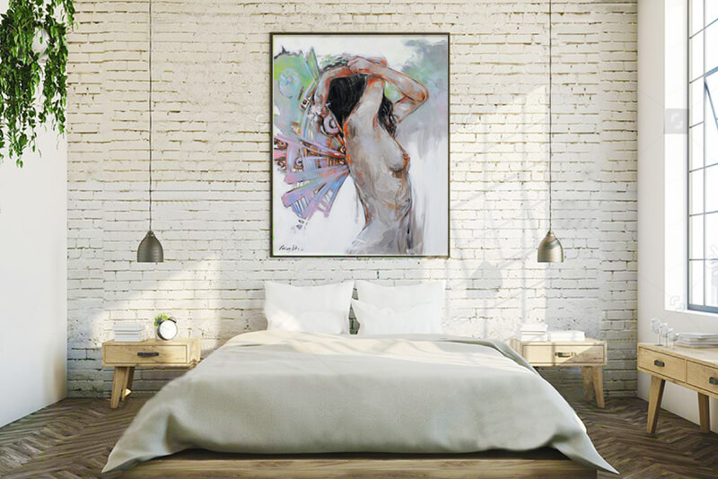paintings for bed room