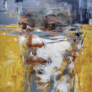 potrait - artist tran ngoc bay