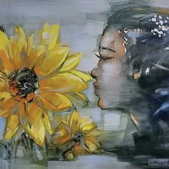 sunflower - artist tran ngoc bay
