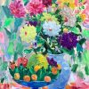 Still Life: Tet Holiday - Vietnamese Oil Painting by Artist Dinh Dong
