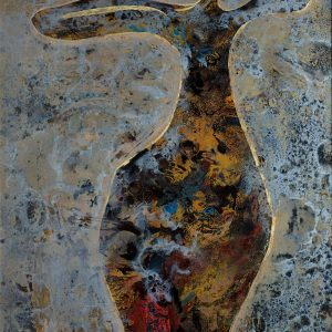 The Morning - Vietnamese Lacquer Painting by Artist Trieu Khac Tien