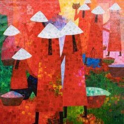 vietnam local market artist nguyen quy tam