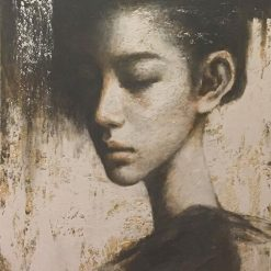 young lady - artist vu duy tam